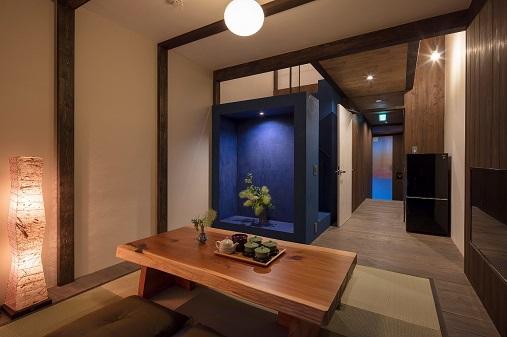 Machiya Townhouse in Kyoto